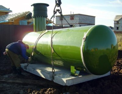 автономная газификация/ установка (монтаж) газгольднра
