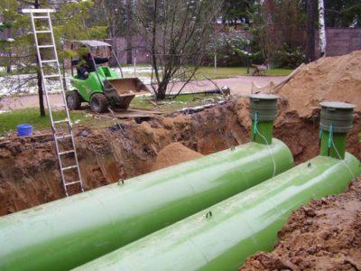 автономная газификация/ установка (монтаж) газголдера