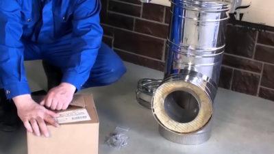 Монтаж дымоходов