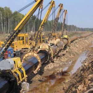 Газификация-подземный газопровод