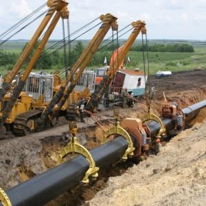 Газификация - подземный газопровод